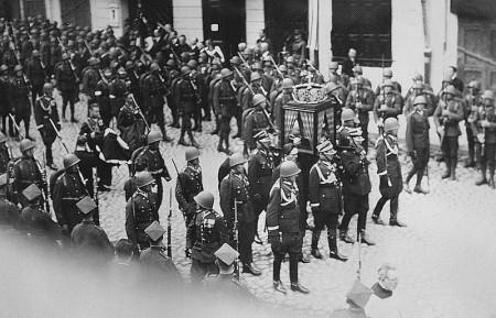 Pogrzeb w Wilnie
