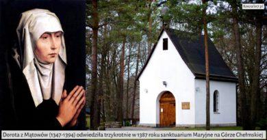 Dorota z Mątowów na Górze Chełmskiej w Koszalinie