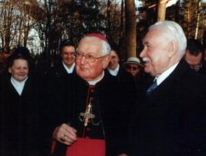 Z Ryszardem Kaczorowskim