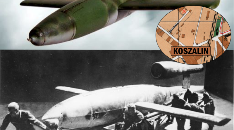 W Koszalinie produkowano niemiecką broń odwetową V-1