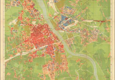 Dzisiaj tylko kupa gruzów pozostała – wstrząsająca mapa